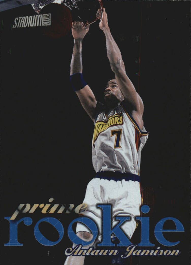 1998-99 Stadium Club Prime Rookies #P4 Antawn Jamison