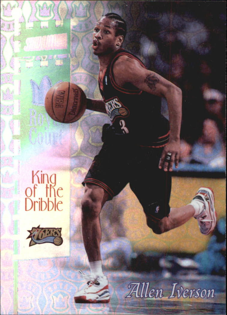 1998-99 Stadium Club Royal Court #RC5 Allen Iverson