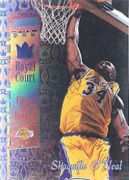 1998-99 Stadium Club Royal Court #RC6 Shaquille O'Neal
