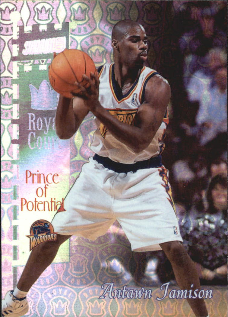 1998-99 Stadium Club Royal Court #RC13 Antawn Jamison