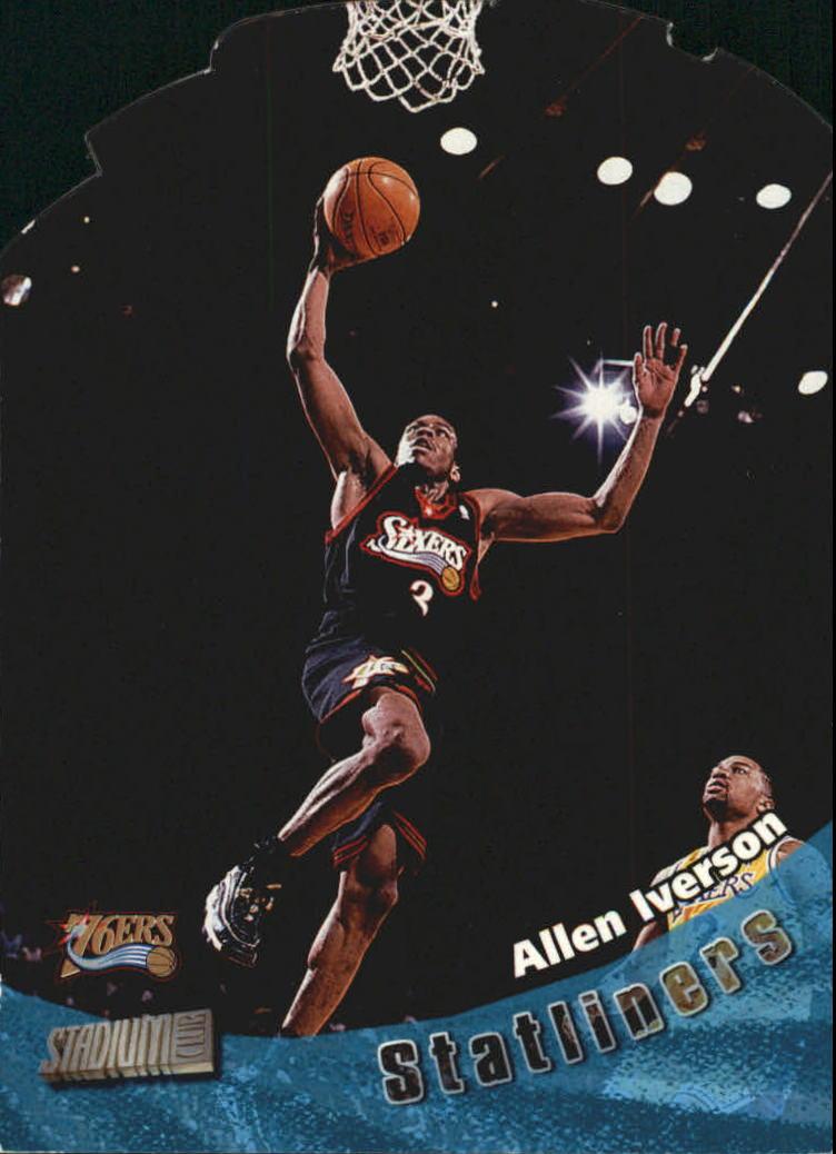 1998-99 Stadium Club Statliners #S6 Allen Iverson
