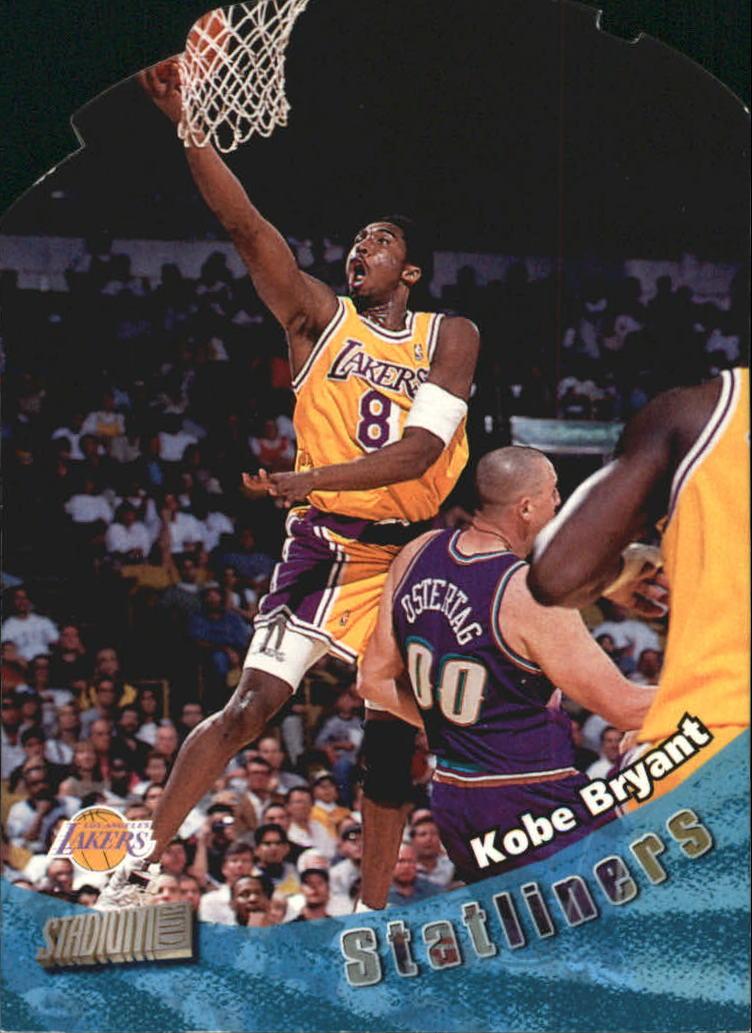 1998-99 Stadium Club Statliners #S17 Kobe Bryant