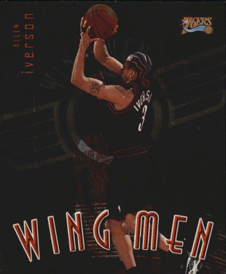 1998-99 Stadium Club Wing Men #W14 Allen Iverson