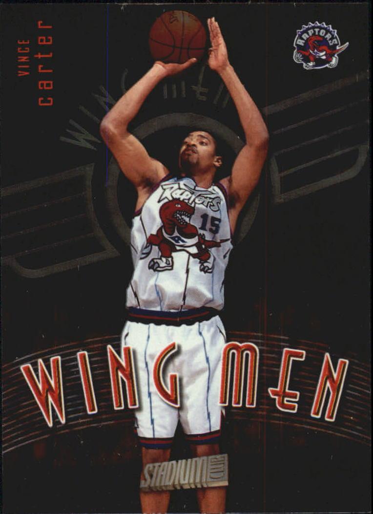 1998-99 Stadium Club Wing Men #W18 Vince Carter