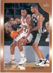 1998-99 Topps #22 Tony Battie