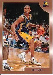 1998-99 Topps #27 Jalen Rose