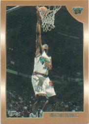 1998-99 Topps #33 Antonio Daniels