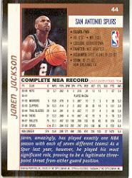 1998-99 Topps #44 Jaren Jackson back image