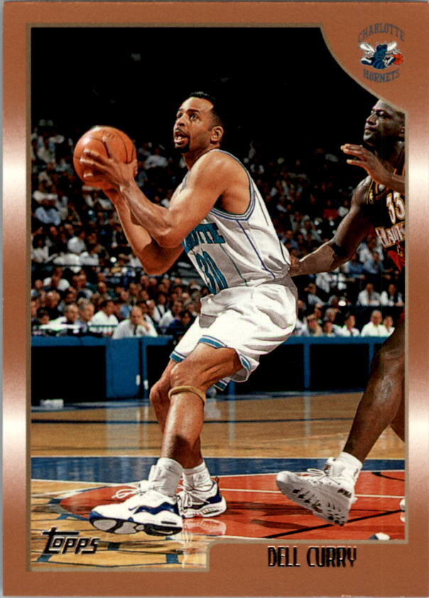 1998-99 Topps #57 Dell Curry