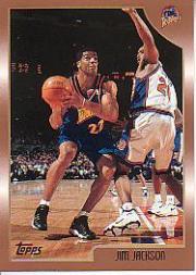 1998-99 Topps #63 Jim Jackson