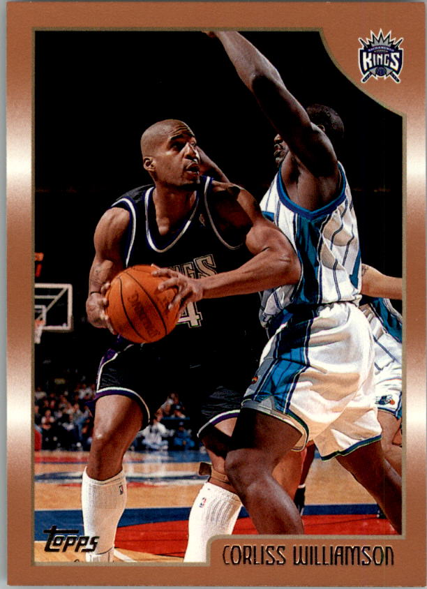 1998-99 Topps #106 Corliss Williamson