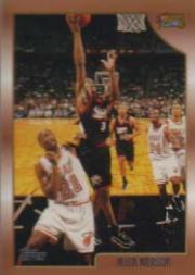 1998-99 Topps #160 Allen Iverson