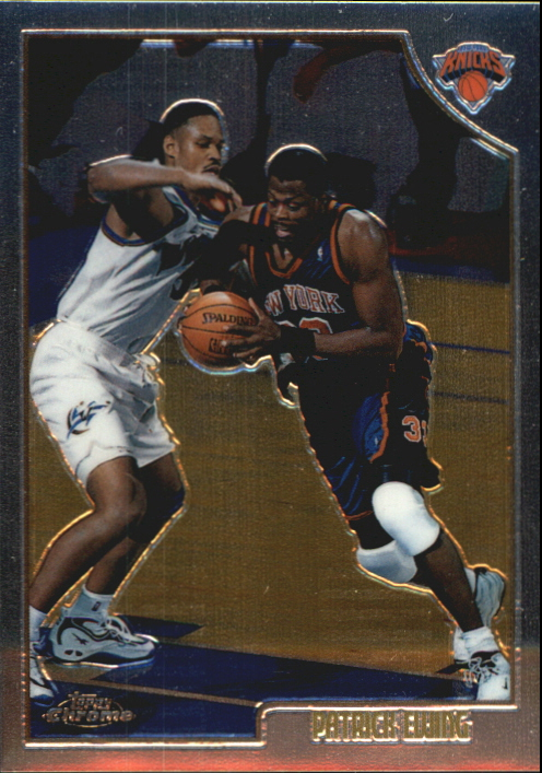 1998-99 Topps Chrome Preview #40 Patrick Ewing