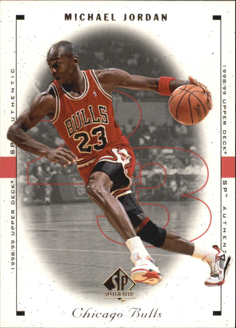 1998-99 SP Authentic #3 Michael Jordan