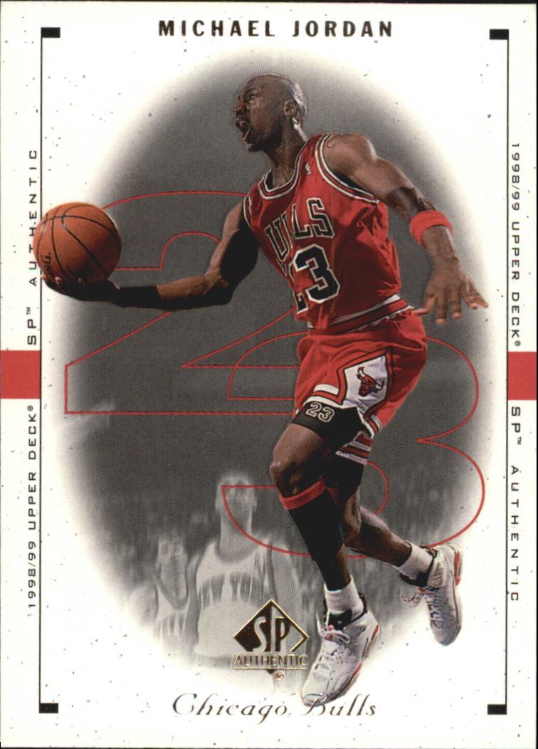 1998-99 SP Authentic #4 Michael Jordan
