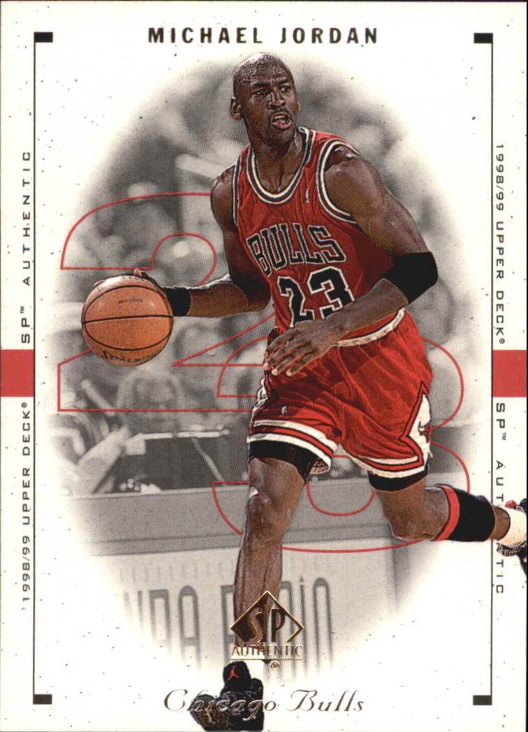 1998-99 SP Authentic #7 Michael Jordan
