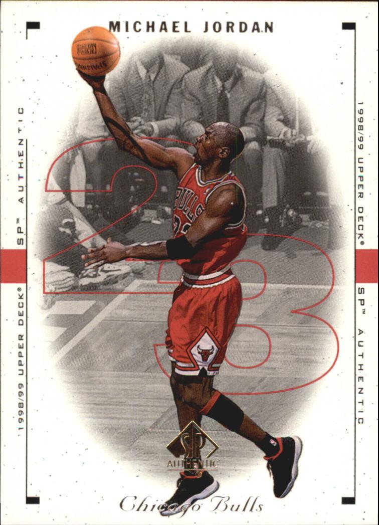 1998-99 SP Authentic #8 Michael Jordan