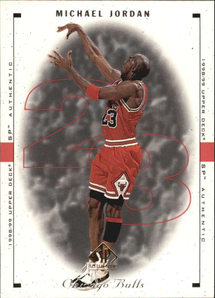 1998-99 SP Authentic #9 Michael Jordan