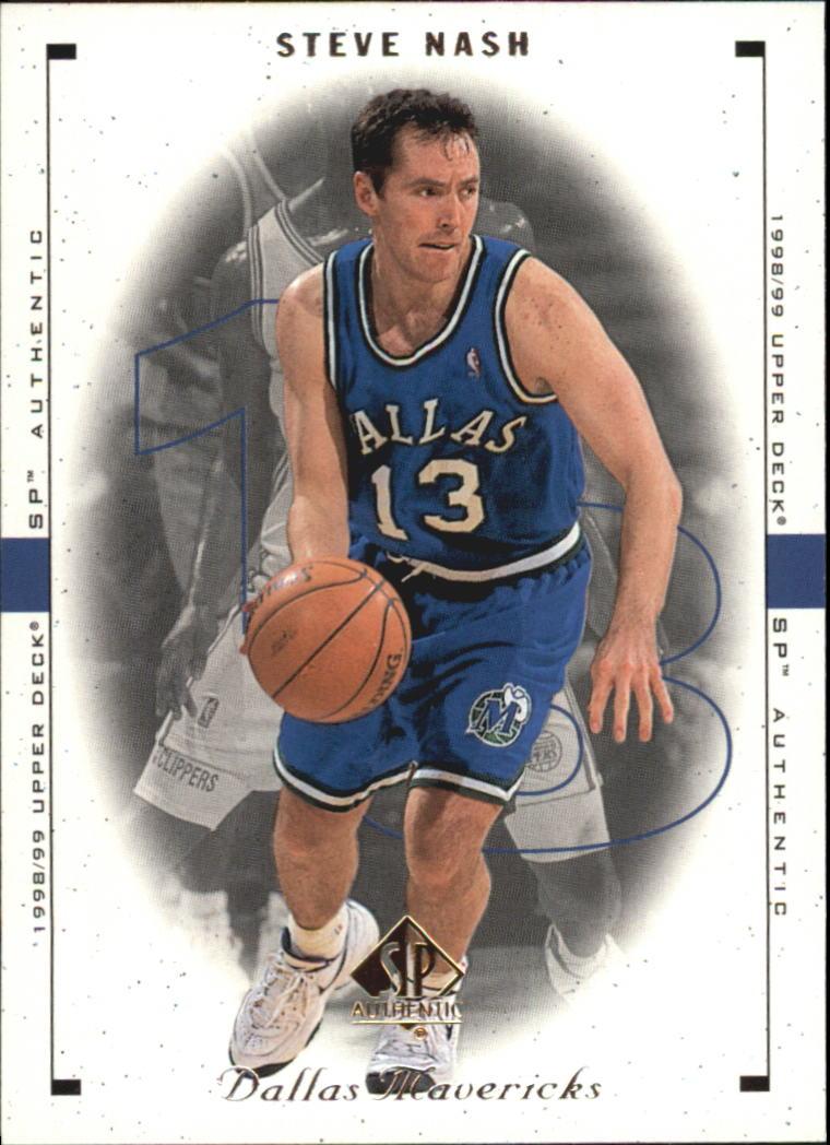 1998-99 SP Authentic #27 Steve Nash