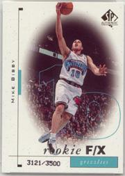 1998-99 SP Authentic #92 Mike Bibby RC