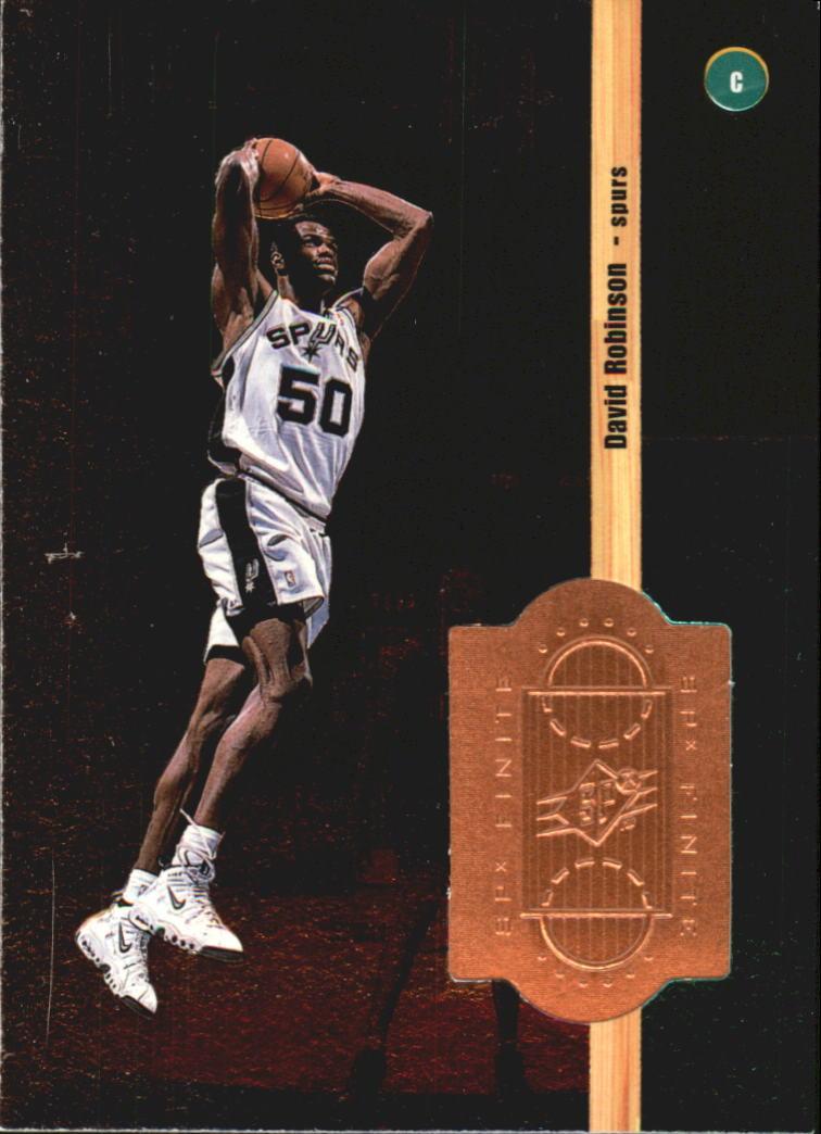 1998-99 SPx Finite #33 David Robinson
