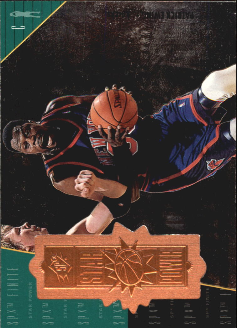 1998-99 SPx Finite #137 Patrick Ewing SP