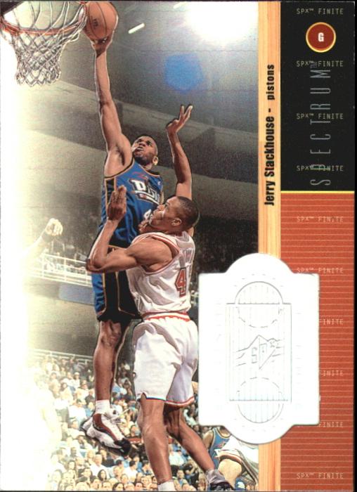 1998-99 SPx Finite Spectrum #13 Jerry Stackhouse