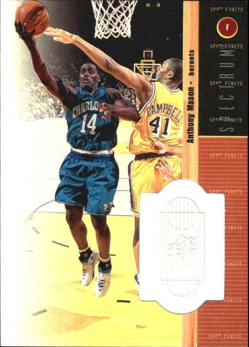 1998-99 SPx Finite Spectrum #74 Anthony Mason