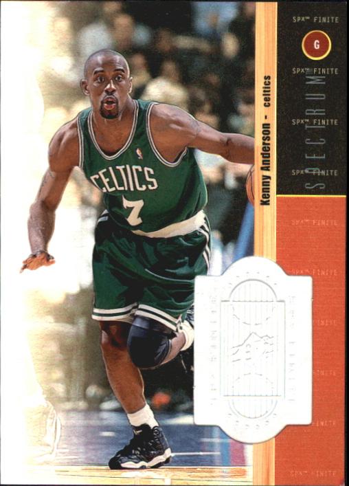 1998-99 SPx Finite Spectrum #85 Kenny Anderson
