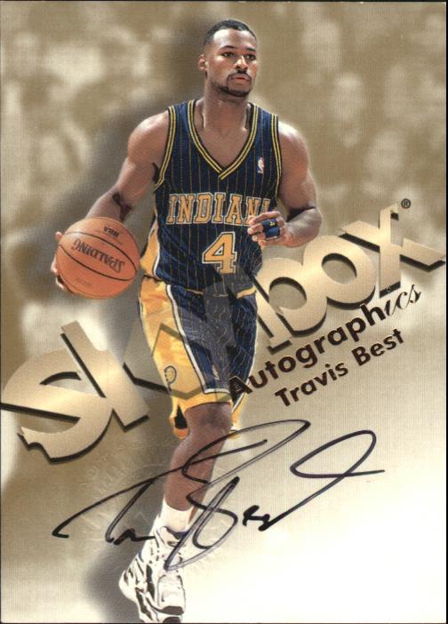 1998-99 SkyBox Premium Autographics #13 Travis Best