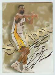 1998-99 SkyBox Premium Autographics #30 Dale Davis