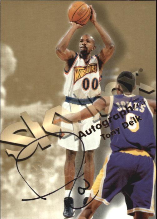 1998-99 SkyBox Premium Autographics #33 Tony Delk