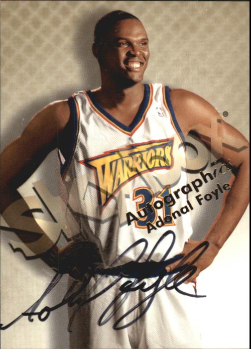 1998-99 SkyBox Premium Autographics #42 Adonal Foyle