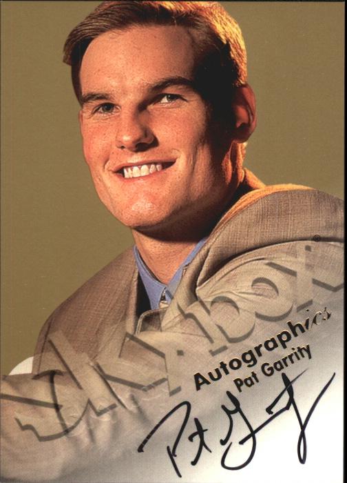 1998-99 SkyBox Premium Autographics #45 Pat Garrity