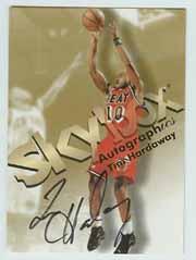 1998-99 SkyBox Premium Autographics #49 Tim Hardaway