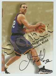 1998-99 SkyBox Premium Autographics #70 Jason Kidd