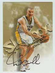 1998-99 SkyBox Premium Autographics #89 Chris Mullin