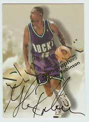 1998-99 SkyBox Premium Autographics #106 Glenn Robinson