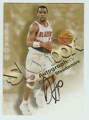1998-99 SkyBox Premium Autographics #120 Damon Stoudamire