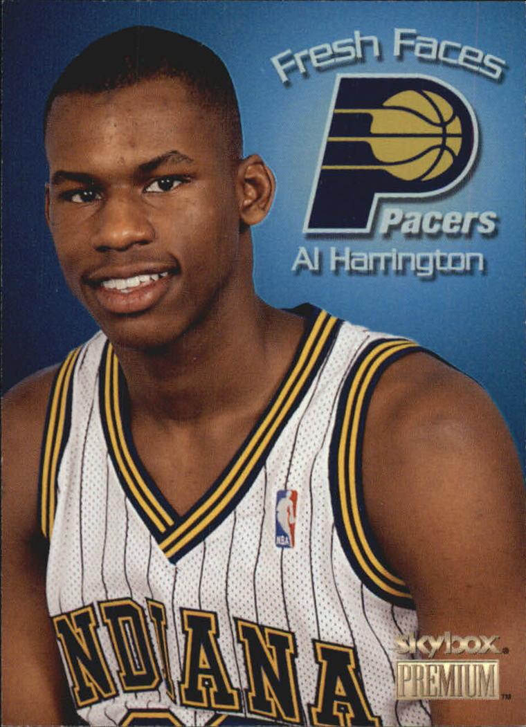 1998-99 SkyBox Premium Fresh Faces #3 Al Harrington
