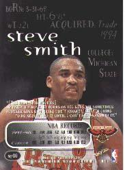 1998-99 SkyBox Thunder #69 Steve Smith back image
