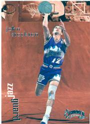 1998-99 SkyBox Thunder #123 John Stockton