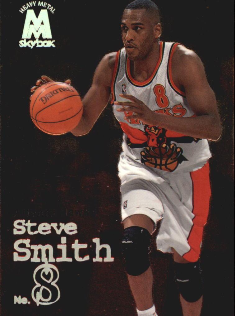 1998-99 SkyBox Molten Metal #105 Steve Smith
