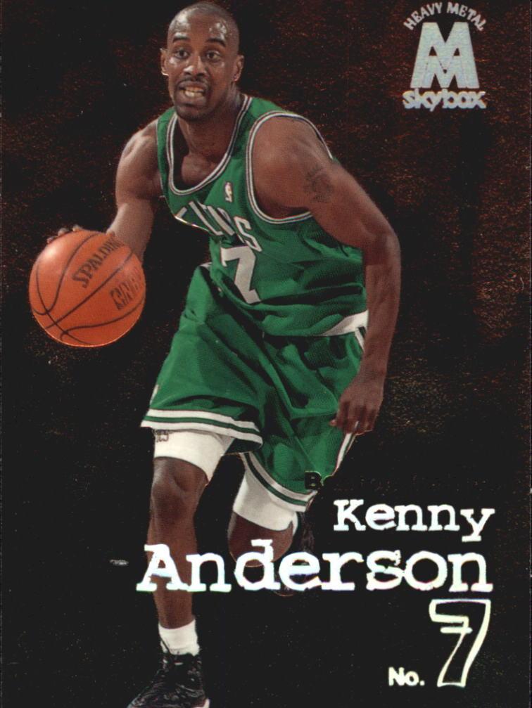 1998-99 SkyBox Molten Metal #128 Kenny Anderson