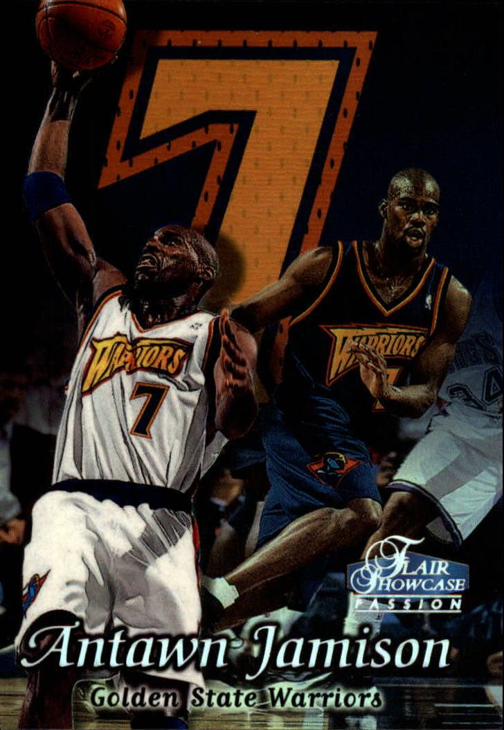Upper Deck 1999 Century Legends Basketball Card#60 Antawn Jamison Golden State Warrior