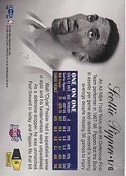1998-99 Flair Showcase Row 1 #14 Scottie Pippen back image