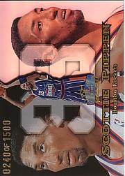 1998-99 Flair Showcase Row 1 #14 Scottie Pippen