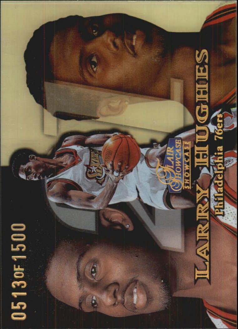 1998-99 Flair Showcase Row 1 #19 Larry Hughes