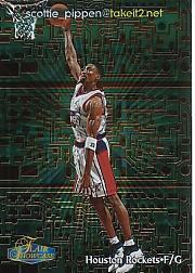 1998-99 Flair Showcase takeit2.net #1 Scottie Pippen