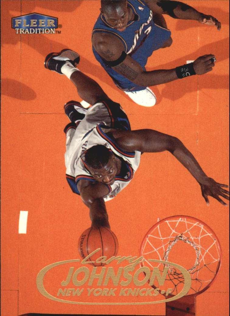1998-99 Fleer #22 Larry Johnson